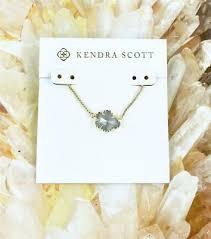 new kendra scott tess slate pendant