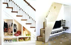 under stairs furniture. Under Stairs Storage Shelves Furniture Space Ideas