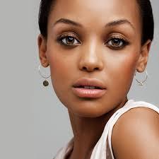 daily makeup for dark skin