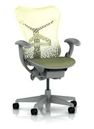 herman miller desk chair miller chair with citron polymer back and seat with shadow grey frame