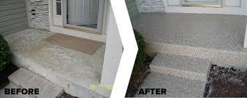 exterior epoxy flooring. decorative concrete coating systems for exterior patios, porches or sidewalks epoxy flooring e