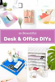 diy office projects.  Diy 20 Beautiful Desk And Office Projects DIY Intended Diy E