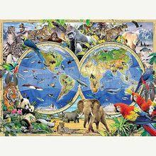 <b>Mosaic</b> Diy World Map