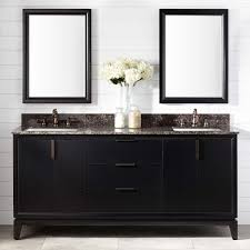 Double Vanity Cabinets Bathroom 72 Talyn Mahogany Double Vanity For Rectangular Undermount Sinks