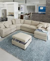macys leather sectional sofa. Radley Fabric Sectional Sofa Collection, Created For Macy\u0027s - Furniture Macys Leather A