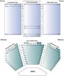 Seating Layout Vero Beach Opera