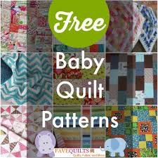 Nursery Ideas: How to Sew for Babies | FaveQuilts.com & Free Baby Quilt Patterns Adamdwight.com