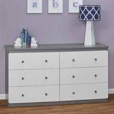 gray nursery furniture. Ameriwood Home Willow Lake 6-drawer Dresser By Cosco Gray Nursery Furniture