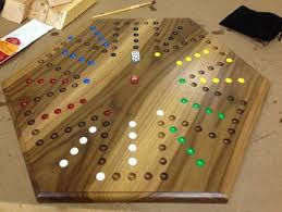 Wooden Aggravation Board Game Pattern How to make an Aggravation Board Game A do it yourself project 20