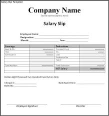 Employee Salary Slip Sample Magnificent Salary Slip Format In Word Doc Bino48terrainsco