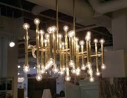 jonathan adler meurice chandelier polished nickel light