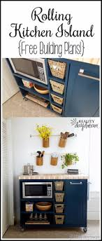 Diy Rolling Kitchen Island 11 Cool Diy Ideas For Your Kitchen Diy And Crafts Home