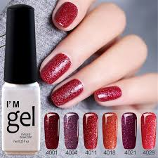 1pc Nail Polish Gorgeous Color Nail Gel Polish Vernis Semi Permanent Top Coat Base Coat Gel Nail Varnishes Gel Lacquer 7ml