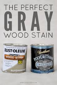 Rustoleum Driftwood Stain How To Get The Perfect Weathered Gray Wood Using Rustoleum