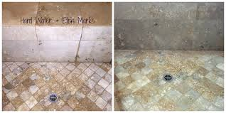 travertine cleaning travertine shower cleaning