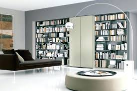 contemporary library furniture. Small Home Library Interior Contemporary Furniture With Neat Arrangement
