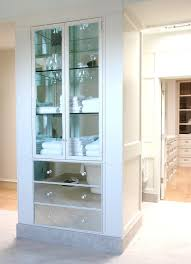 linen closet in bathroom. Linen Closet Ideas Bathroom Transitional With Crown Moulding Mirrored Furniture In S