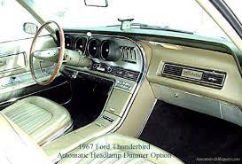 rare option ford thunderbird autolamp and automatic headlamp dimmer 1967 Thunderbird Interior at New Interior Wire Harness 1966 Thunderbird