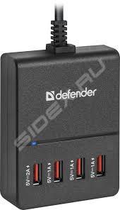 Универсальное <b>сетевое зарядное устройство</b>, адаптер 4хUSB ...