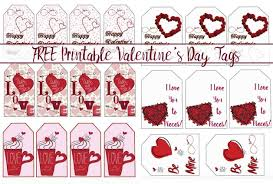 This instant printable will save you a ton of time and money. Free Printable Valentine S Day Gift Tags Multiple Designs Sizes