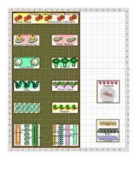 Layout Of Kitchen Garden Botanica Ct 5a Arafen
