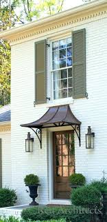 front door porch awnings best front door awning ideas on metal awning front door overhang and