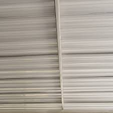 corrugated tin ceiling