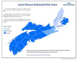 Cdc Communicable Disease Chart Communicable Diseases Lyme Disease Novascotia Ca
