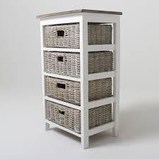 wicker basket cabinet. Fine Cabinet Storage Cabinet With Wicker Baskets   Bay Four Basket Unit   Units Cabinets U0026 Shelving For A