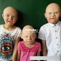 Wholesale <b>Latex Cry</b> Baby Mask