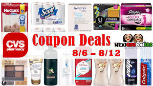 cvs top deals week of 8 6 8 12 score free colgate toothpaste mexicouponers