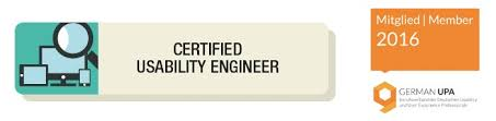 wir sind certified usability engineers techdivision usability engineer