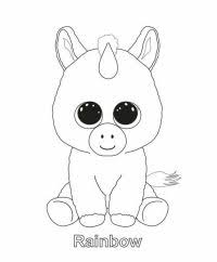 Coloriage Peluche Ty Print Ellie Beanie Boo Coloring Pages