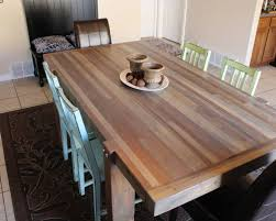 butcher block dining table. Butcher Block Dining Table With Kitchen Home Design And Wall Decoration Prepare 7