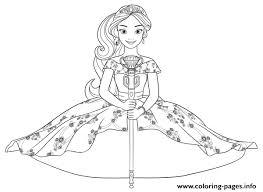 Disney Princess Coloring Pages Princess Elena Disney Princess