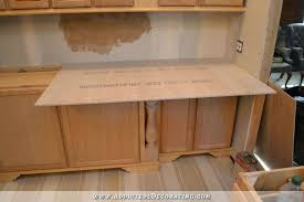 attaching countertop to cabinets concrete 1 attaching countertop to kitchen cabinets attaching corian countertop to cabinet