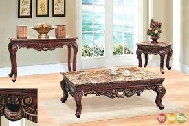 marble furniture tops marble tops for furniture 3 piece living room coffee  end table set w