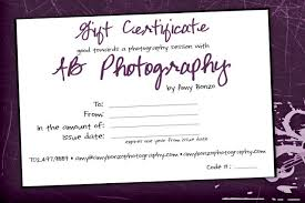 gift certificates on now las vegas photographer custom so