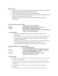 Welder Job Description Welder Job Description Sample Resume Welder ...