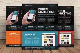 digital marketing flyer psd flyer templates on creative market
