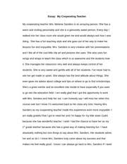 affordable price essay by a teacher in a black high school an essay on teacher teacher essay writing write an essay describing your favorite teacher choose by
