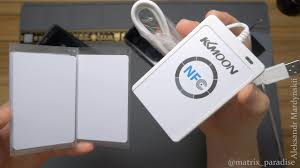 <b>ACR122U</b>-A9 KKMOON RFID <b>NFC Reader Writer</b> оборудование ...