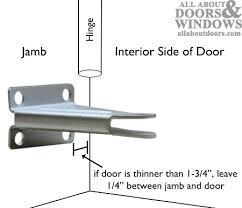 door closer installation. jamb bracket ideal security storm door closer installation r