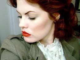 vine makeup look from hollywood noir