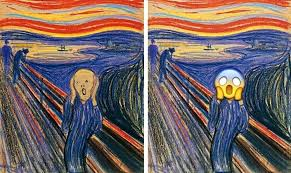 modern paintings munch the scream painting modern art images of flowers