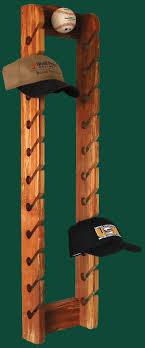 ... Rack, DIY Baseball Cap Rack Hat Design: Appealing Baseball Cap Rack  Ideas ...