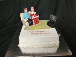 Cakes For Mom Dad I Customized Theme Cakes I Miras L Bangalore