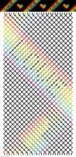 Heart Friendship Bracelet Pattern New Decorating Design