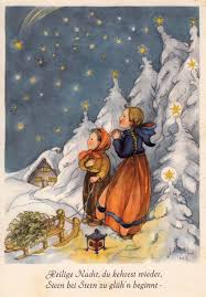 Ak M Savelsberg Weihnachten Kinder Im Winterwald Sehen