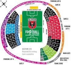 R F K Stadium Guide D C United Football Tripper